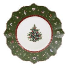Villeroy & and Boch Christmas TOY'S DELIGHT green salad / dessert plate 24cm NEW