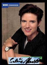 Sabine Hartel WDR Autogrammkarte Original Signiert # BC 62823