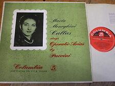33CX 1204 Puccini Operatic Arias / Callas E/R