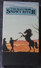 The Man From Snowy River - Kirk Douglas - Gently Used VHS Video - VGC - NICE