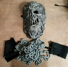 SHAKLED MASK & TOY CHAIN WITH WRIST CUFFS SIZE ADULT