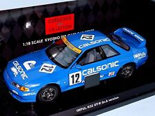 NISSAN  SKYLINE GT-R (R32) TEAM CALSONIC #12 GROUP A 1990  KYOSHO 08361C   1:18