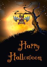 """""""VAMPIR-FLEDERMAUS"""": 8 gruselige Einladungskarten zur Halloween-Party"""