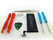 iPHONE 4S BATTERY 1430mAh 3.7V LI-ION A1387 AT&T VERIZON SPRINT +FULL TOOL KIT