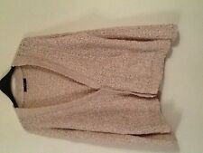 Ladies Cream/ golden coloured cardigan from Asda in a size 14