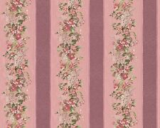 Tapete Floral Streifen rot rosa A.S. Création Villa Rosso 95929-4 959294 (3,60€/