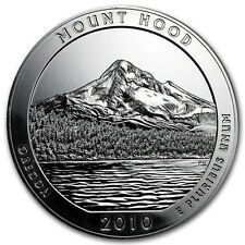 2010 5 oz Silver ATB Mount Hood National Park, OR  (w/ Box & COA)