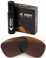 Polarized IKON Replacement Lenses For Oakley Monte Frio Sunglasses Bronze/Brown