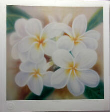 PLUMERIA - Jes Nitta  pencil Signed and numbered Limited Edition Print