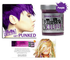 Jerome Russell semi-permanent conditioner  PUNKY  HAIR COLOR  PURPLE