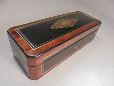 Antique French Boulle type Box  ref 841