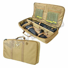 VISM NcSTAR Range Padded Carry Bag Discreet Padded Carbine Rifle Gun Case Tan