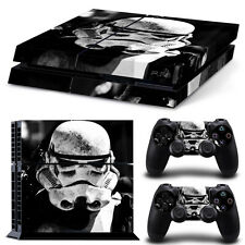 Skin Sticker Decal Cover For PlayStation4 PS4 Console+Controllers for STAR WARS