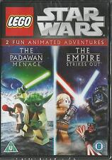 Lego Star Wars The Padawan menace & The Empire Strikes Out DVD FREE SHIPPING