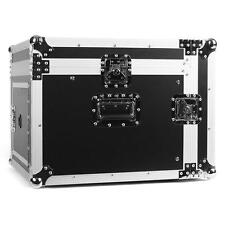 "SUPER FRONTSTAGE SC-MC 6U DJ PA TECHNIK WINKEL 19"" RACK FLIGHT CASE 10HE 6HE"