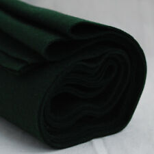 100% Wool Felt Fabric - 1mm Thick - Made in Europe - Hunter Green - 1/2m x 1.6m