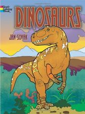 Dinosaurs Adult & Childrens Colouring Book Creative Creatures Monsters Jurassic