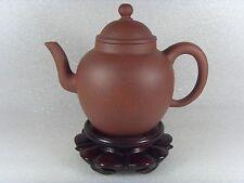 Authentic Chinese YiXing ZiSha Qing De Tang Teapot 400 ml / 13.5 oz