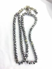 99 X 8mm Silver Crystal Prayer Beads Muslim Islamic Very Nice Tasbih Masbah Gift