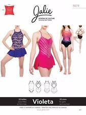 Jalie Violeta Open Back Leotard and Dress Skating Costume Sewing Pattern 3673