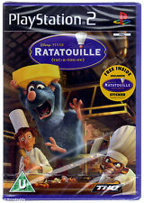 PS2 Disney Pixar Ratatouille (2007), UK Pal, New & Sony Factory Sealed