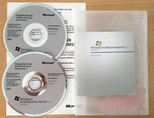 Microsoft Windows SBS Small Business Server 2011 Standard Std 1-4 CPU 5CAL 64bit
