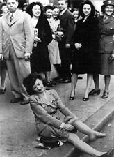 Old Photo. The Newest Hot Item - Nylon Stockings