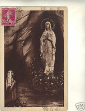 65 - cpa - LOURDES - L'apparition ( i 1749)