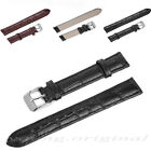 Mens Genuine Leather Watch Strap Band + Steel Buckle 16MM 18MM 20MM 22MM 24MM BN