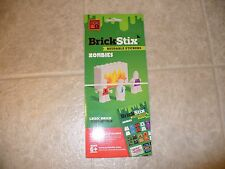 Brick Stix Reusable Stickers Zombies Lego Compatible