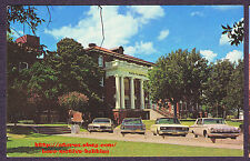 Postcard  SANTA FE HOSPITAL  ATSF Railroad  pre- Scott & White Temple TX  1960's