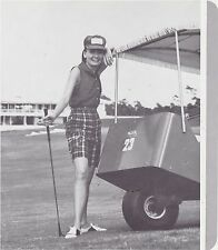 1970s AD SHEET #2799 - HARBURT ETONIC WOMENS GOLF CLOTHING - MADRAS PLAID SHORTS
