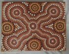 #AB1219. ABORIGINAL ART BY ANGELA BLAKENEY WITH CERTIFICATE OF AUTHENTICITY