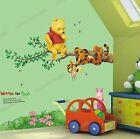 Winnie The Pooh Tigro Albero Pimpi Adesivi Da Parete Rimovibile Bambini