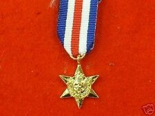 World War 2 France & Germany Star Miniature medal