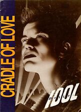 BILLY IDOL - CRADLE OF LOVE Original Vintage SHEET MUSIC Australia 1990