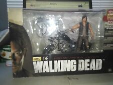 Walking Dead Daryl Dixon Figure  With Chopper Deluxe Box Set unopened