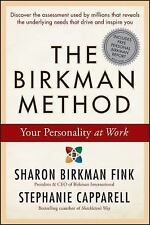 The Birkman Method: Your Personality at Work by Fink, Sharon Birkman, Capparell
