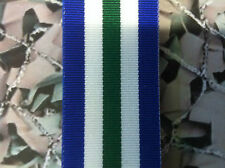 Full Size Medal Ribbon - Royal Navy Reserve LSGC Post 1958
