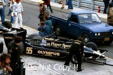 Jean-Pierre Jarier JPS Lotus 79 USA Grand Prix 1978 Photograph 3