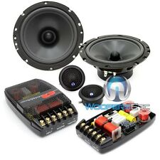"CDT AUDIO CL-61A-25 PRO CLASSIC 6.5"" COMPONENT SPEAKERS CROSSOVERS TWEETERS NEW"