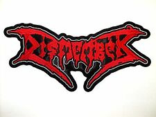 DISMEMBER   EMBROIDERED BACK PATCH