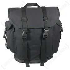 Reproduction 25 Litre German Army Mountain Backpack – Black CANVAS Bag