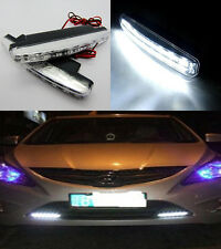 HOT 8LED Car Light DRL Fog Driving Daylight Daytime Running LED White Head Lamp