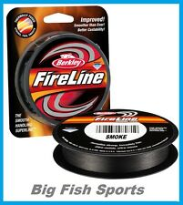 BERKLEY FIRELINE FUSED Braid Fishing Line 6LB-300YD #BFL3006-42 FREE USA SHIP!