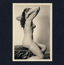 #240 RÖSSLER AKTFOTO / NUDE WOMAN STUDY * Vintage 1950s Studio Photo - no PC !