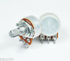 5 pcs Alpha 50KA / A50K Logarithmic / Audio Pot Potentiometer 15mm 1/4W