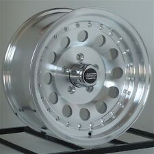 15 Inch Machined Wheels Rims Chevy S10 Blazer 2WD El Camino Chevelle 5x4.75 NEW