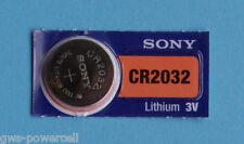 3 x batería Sony cr2032 litio 3v botón batería CR 2032 nuevo embalaje original