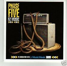 (I546) Phase Five, NZ Music - DJ CD